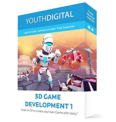 Youth Digital 3D Game Development 1 - Online Course for MAC/PC