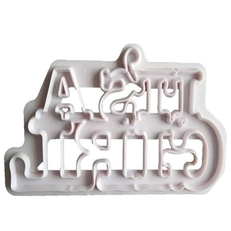 uyhghjhb Its A Boy/Girl Cortador de Galletas de Galletas para decoración de Baby Shower