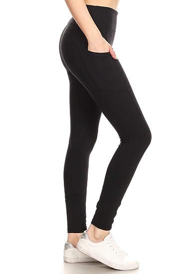 d2bc0813ea28 Leggings Depot High Waisted Leggings -Soft   Slim - Solid Colors ...