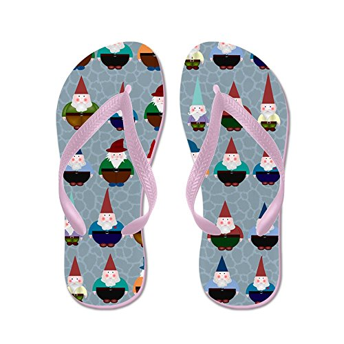 Cafepress Gnomeses - Flip Flops, Roliga Rem Sandaler, Strandsandaler Rosa