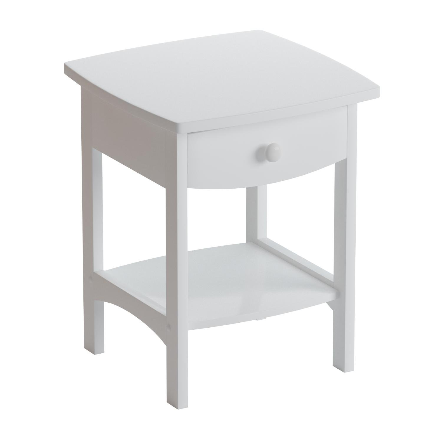 Winsome Wood 10218 Claire Accent Table, White by Winsome Wood