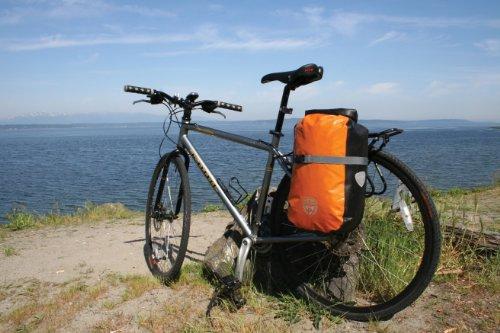 Seattle Sports Fast Pack Pannier Bike Bag, Orange