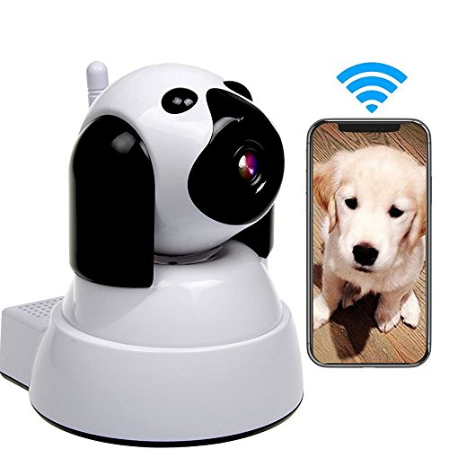 Yooan WiFi IP Camera 720P HD Wireless Camera Baby Pet Monitor Surveillance Home Security Camera Nanny IP Cam Pan/Tilt with Motion Detection TwoWay Audio Night Vision