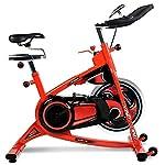 Allenamento-Spin-Bike-Professionale-Cyclette-Aerobico-Home-Trainer-Volano-Grande-18-Kg-Orologio-Elettronico-Multifunzionale-Sistema-Di-Resistenza-Infinita-Rilevazione-Della-Frequenza-Cardiac