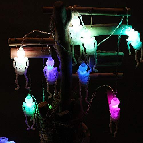 Halloween Pumpkin Spider&Bat String 10 LED 2M Led