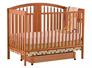 Stork Craft Hollie Fixed Side Convertible Crib, Oak (Discontinued by Manufacturer)