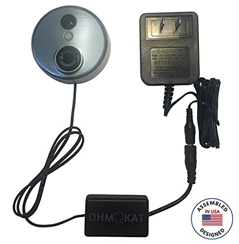 Ohmkat Video Doorbell Power Supply   Compatible With Skybell Hd   Needs No Existing Wiring   Transformer  Adapter  Power Kit   Supply All In One   Assembled And Designed In Usa