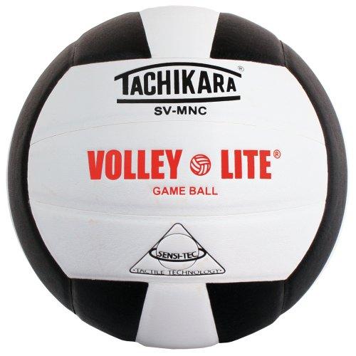 Tachikara SVMNC Volley-Lite volleyball (Black/White)