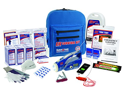 ER Emergency Ready 2 Person Ultimate Deluxe Backpack Survival Kit, ()
