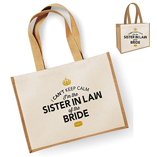 Of Bride The Gift Bride In In Law In The Gift Sister Sister Of Bride Mother Keepsake Sister Bag Sister In Law Bag Law Natural Tote Of Law Of In The Sister In Law Mother In Sister Law Sister Law Mother AIUtwxRq