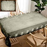 Unique Custom Design Cotton and Linen Blend Tablecloth Grunge Color Filmstrip Texture Scratched Photo Film Frame BackgroundTablecovers for Rectangle Tables, 78'' x 54''