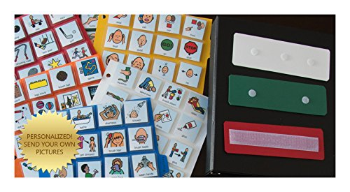 Lot 1 Communication Book with 200 Pecs with ASL Symbols for Autism Aba Therapy