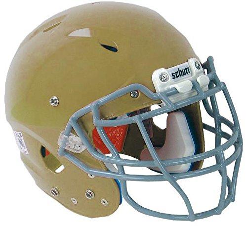 Schutt Sports Youth Vengeance DCT Hybrid Plus Football Helmet Without Faceguard, Large, Metallic Vegas Gold ()