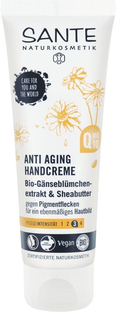 Sante Extracto de maquillaje Crema de manos Antienvejecimiento Vegano bio Natural Natural mano Cuidado, 4unidades (4x 75ml) Sante Naturkosmetik 44124