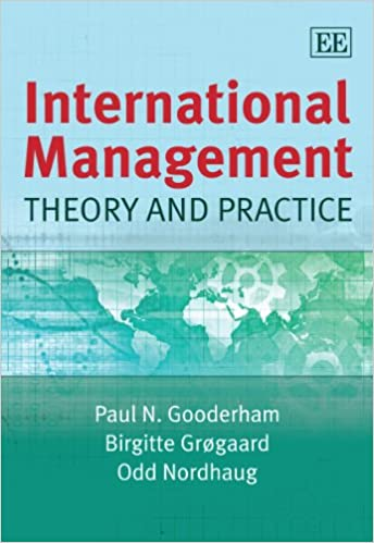 Book International Management: Theory and Practice