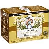Tadin Tea, Manzanilla (Chamomile) Tea, 24-Count Tea Bags (Pack of 12)