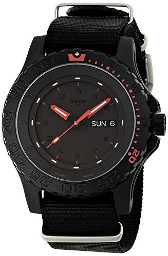 traser watch MIL-G Red Combat P6600 RED COMBAT Men's [regular imported goods]
