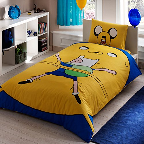 Adventure Time, Bedding Duvet Cover Set, Single / Twin