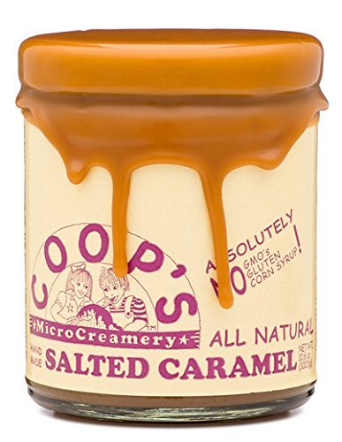 Coops Microcreamery Topping Salted Caramel 106 Ounce