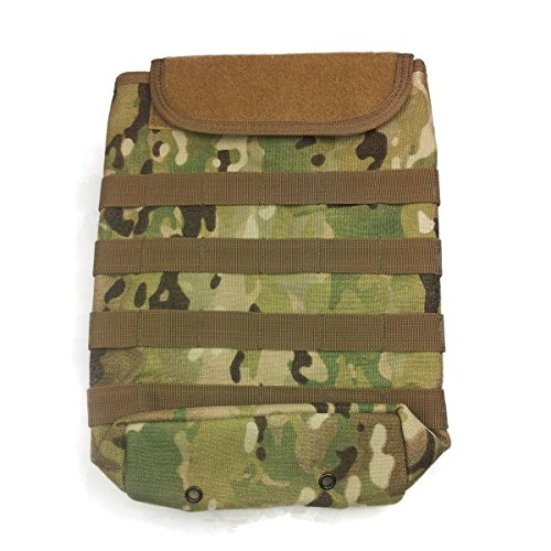 Voodoo Tactical 20-7446 MOLLE Compact Hydration Bladder Carrier Pouch, MultiCam (Compact Plate Carrier)