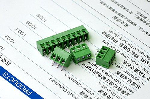 blocco PCB a vite. Generic-10 pezzi con 3 aste da 3,8 mm