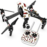 Skin For DJI Inspire 1 Quadcopter Drone – Shell Blanket | MightySkins Protective, Durable, and Unique Vinyl Decal wrap cover | Easy To Apply, Remove, and Change Styles | Made in the USA