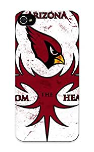 Ellent ipod touch4 Case Tpu Cover Back Skin Protector Arizona Cardinals Nfl Football For Lovers