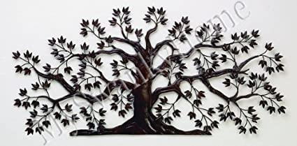 50u0026quot; TREE OF LIFE Large Iron Wall Art   Indoor Or Outdoor