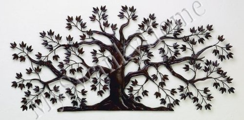 50u0026quot; TREE OF LIFE Large Iron Wall Art   Indoor Or Outdoor Part 60