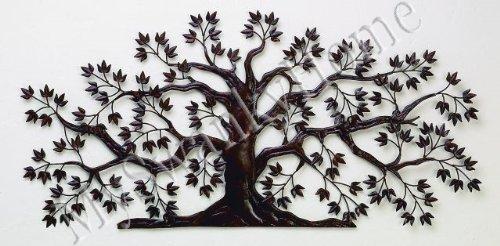Amazon.com 50  TREE OF LIFE Large Iron Wall Art - Indoor or Outdoor Home u0026 Kitchen & Amazon.com: 50