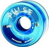 quad atom - Atom Pulse Outdoor Quad Skating Wheels Blue