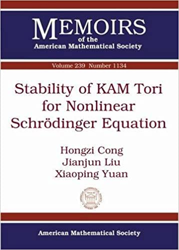 Book Stability of KAM Tori for Nonlinear Schrodinger Equation (Memoirs of the American Mathematical Society) by Hongzi Cong (2016-02-29)