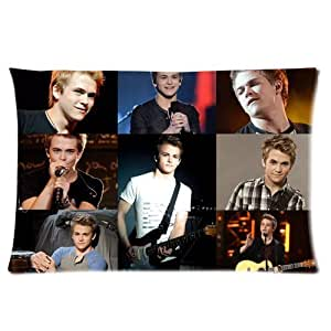 Generic Personalized Hunter Hayes Jigsaw Series Design Sold By Too Amazing Rectangle Pillowcase 24x16 inches (one side)
