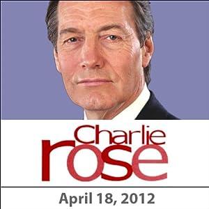 Charlie Rose: John Boehner, John Grisham, and Jonah Peretti, April 18, 2012 Radio/TV Program