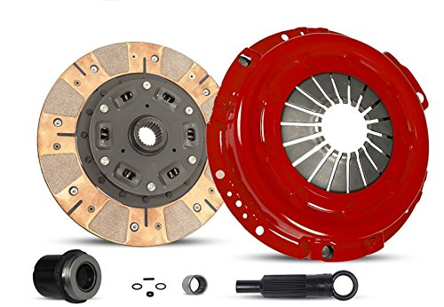 Clutch Kit Works With Ford Ranger Aerostar Bronco II Custom S Sport STX XLT XL Eddie GT Base 1988-1992 2.9L 3.0L V6 GAS OHV 2.0L 2.3L L4 GAS SOHC Naturally -