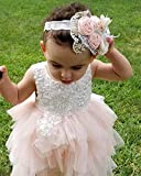 Topmaker Backless A-line Lace Back Flower Girl