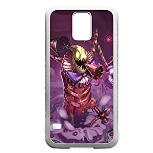 FiddleSticks-004 League of Legends LoL For Case HTC One M8 Cover - Hard White