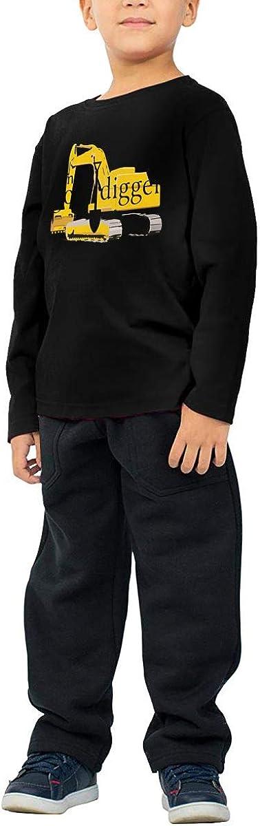 CERTONGCXTS Little Boys Im A Goal Digger ComfortSoft Long Sleeve Shirt