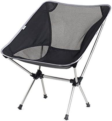 Folding chair Health UK Chaise Pliante en Alliage Noir