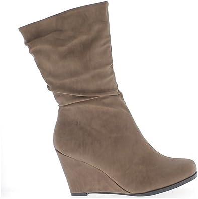 chaussure talon compensé chaudes