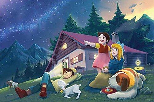 1000 piece jigsaw puzzle Heidi, Girl of the Alps Under the stars (50x75cm)