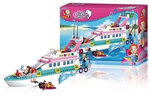 Bausteine Girl's Dream, Sluban ist der Markenname für Spielzeugbausteine, die mit (973977013837)