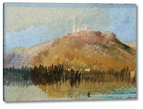 The Lantern of Roche-Corbon, Near Tours by Joseph Mallord William Turner -  7