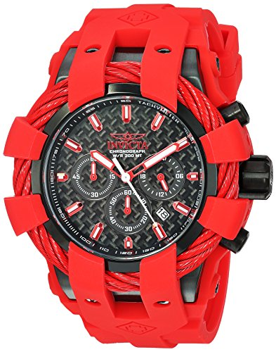 invicta watch red dial - 9