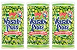 Hapi Snacks Wasabi Peas, Hot, 9.9 Oz (Pack of 3)