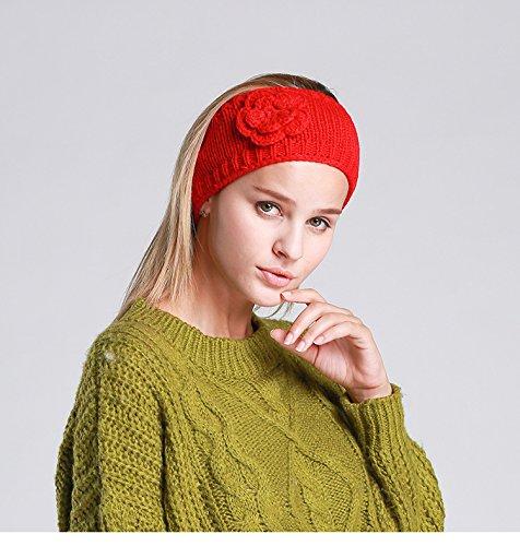 Taille Rouge Unique Femme Bandeau Acvip 4wAqFxc