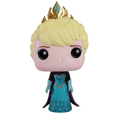 Funko POP Disney: Frozen - Coronation Elsa Action Figure: Funko Pocket Pop!:: Toys & Games