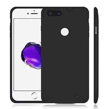 iPhone 7 Plus recargable caso, smaiphone Ultra delgada ...