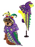 Dog Costume MARDI PAWS DRAGON COSTUMES Mardi Gras Dogs Outfit(Size 0)