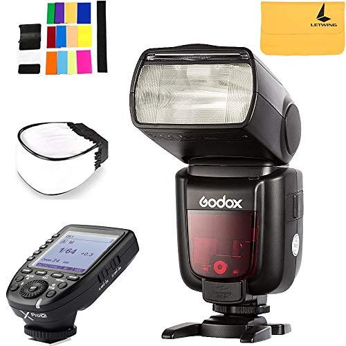 Godox TT685O Thinklite TTL Camera Flash High Speed 1/8000s GN60 for Olympus Panasonic Cameras E-TTL II Autoflash,Godox XPro-O Flash Trigger for Olympus Panasonic Cameras